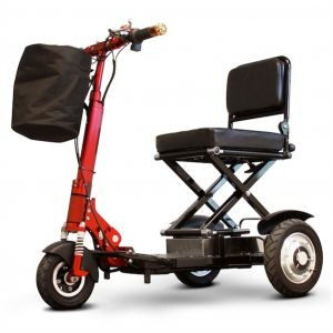 eWheels EW-01 Speedy 3-Wheel Mobility Scooter Sold At Low Cost