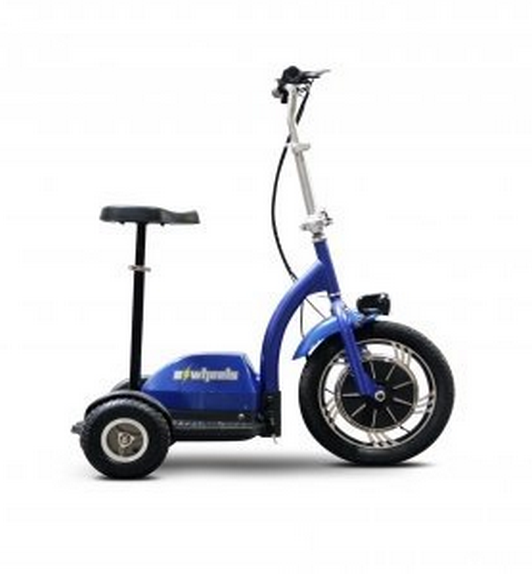 EW-18-Mobility-Scooter-3-Wheel Blue