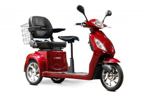 EW-66-Mobility-Scooter-3-Wheel-for-Sale-In-Red