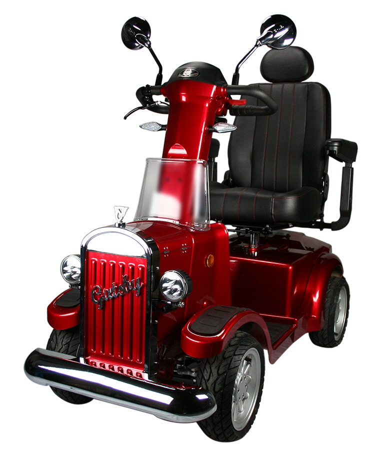 Vintage Gatsby Luxury Mobility Scooter 4 Wheel