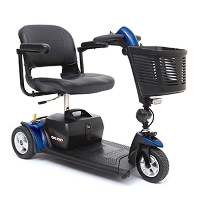 Go-Go Sport Blue Mobility Scooter for Sale 3-Wheel