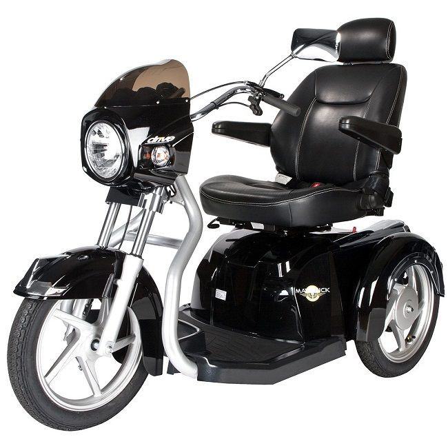 Drive Medical Maverick 3 Wheel Mobility Scooter