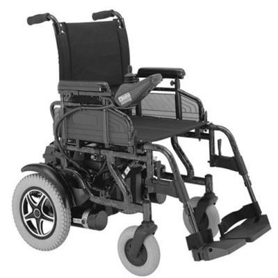 Merits Health P181 Folding Power Wheelchair
