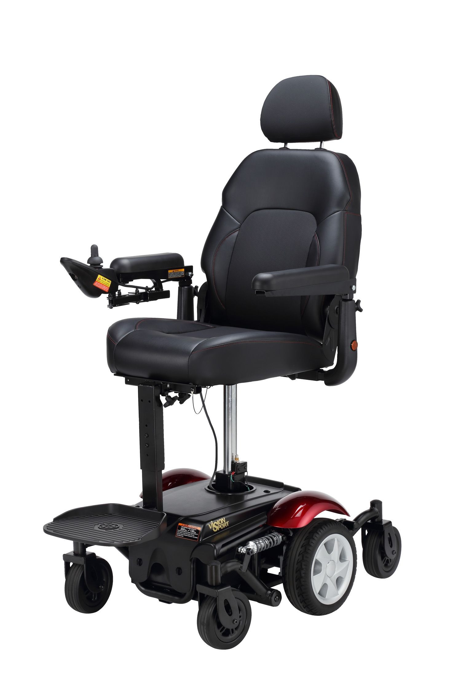Merits p326d power wheelchair with elevated seat lowest for Cost of motorized wheelchair