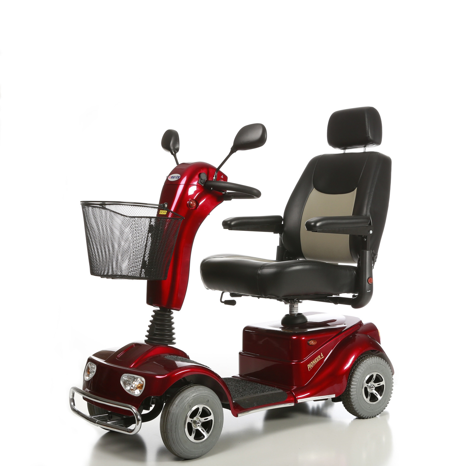 Merits Health S141 Pioneer 4 4 Wheel Mobility Scooter