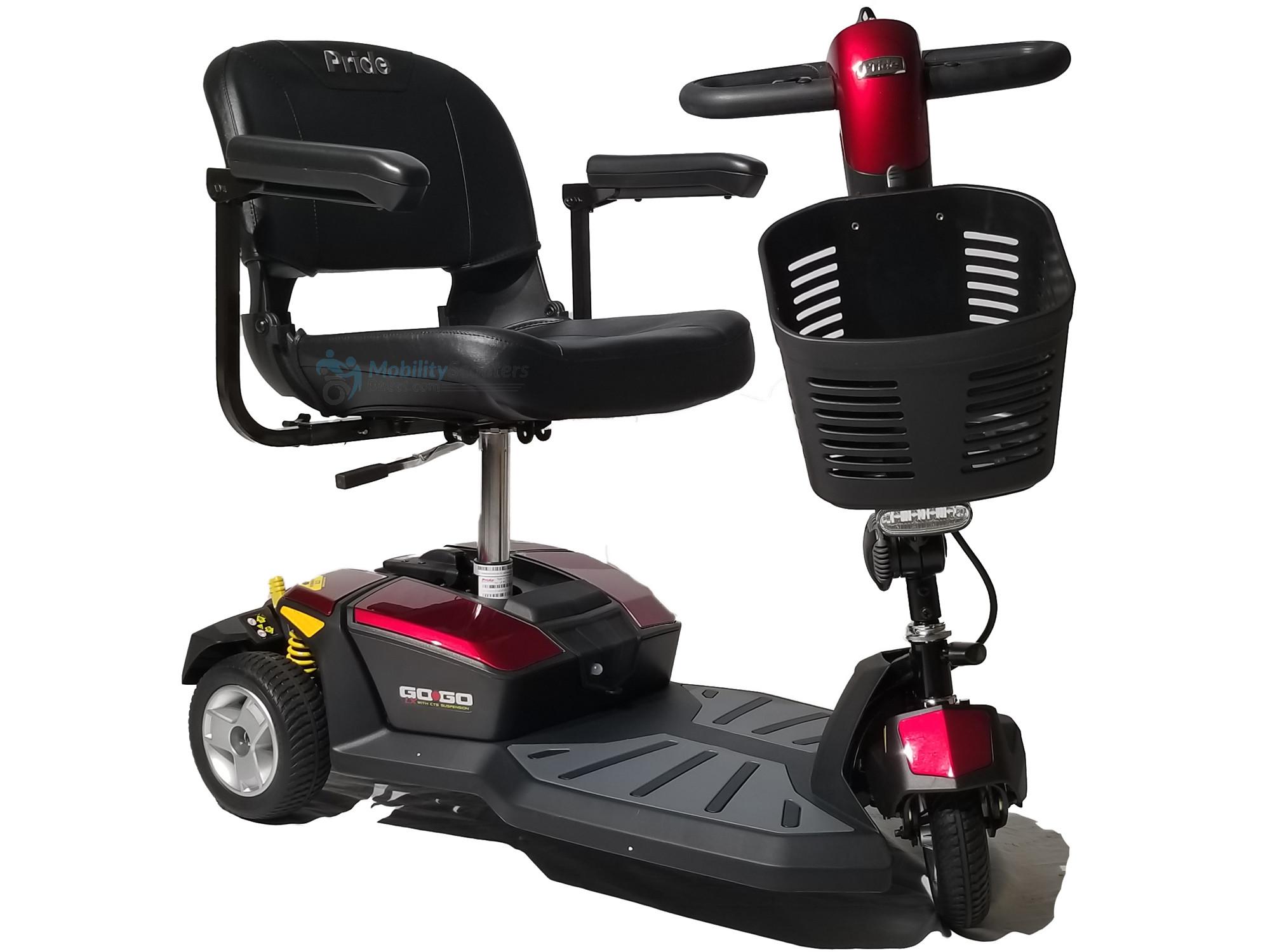 Pride Go-Go LX Mobility Scooter 3-Wheel
