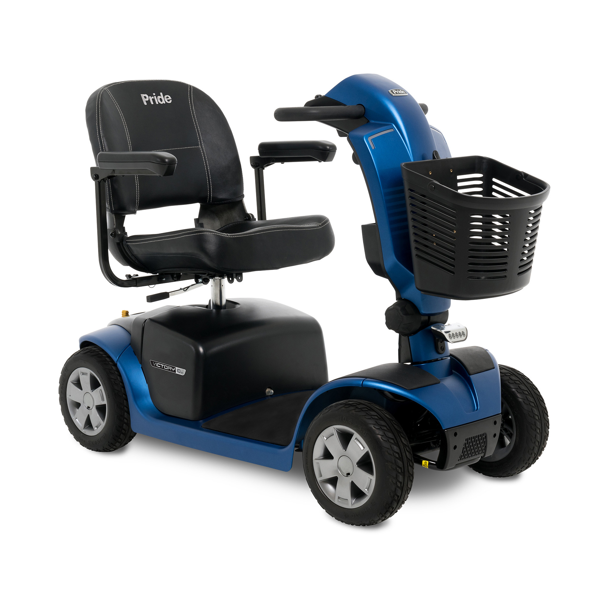 pride victory 10 2 4 wheel mobility scooter free. Black Bedroom Furniture Sets. Home Design Ideas