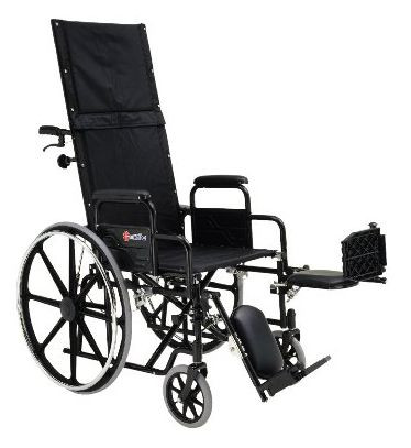 Merits Health USA N700 RAINIER Full Recliner Wheelchair