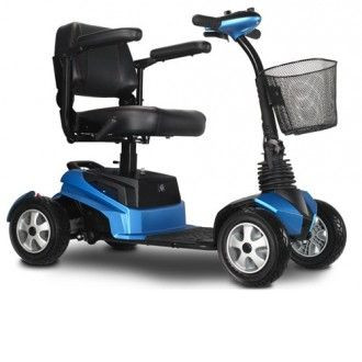 EV Rider Blue RiderXpress Mobility Scooter for Sale