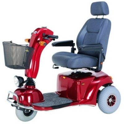 Merits Health S331 Pioneer 9 DLX Bariatric 3-Wheel Mobility Scooter for Sale
