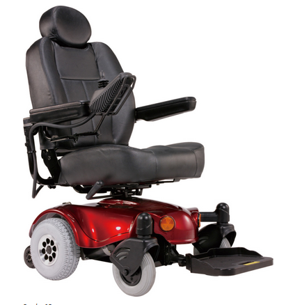 Heartway USA Rumba SR Standard Power Chair Rear Wheel Drive for Sale