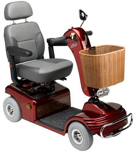 Sunrunner Red 4-Wheel Mobility Scooter for Sale