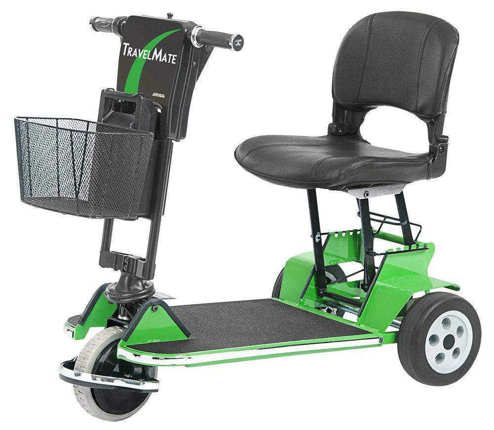 Amigo TravelMate Folding 3-Wheel Mobility Scooter