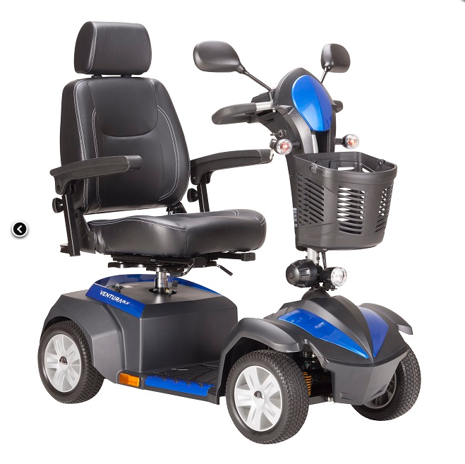 Ventura DLX Mobility Scooter for Sale 4-wheel Blue