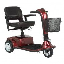 Companion 3-Wheel Mobility Scooter Red