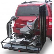 TrekAway Vehicle Lift Loaded