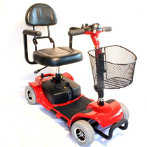 Zip'r Roo 4-Wheel Mobility Scooter for Sale Red