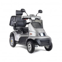 Afiscooter S4 4-Wheel Mobility Scooter for Sale Silver