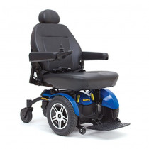 Jazzy Elite HD Power Wheelchair for Sale Blue