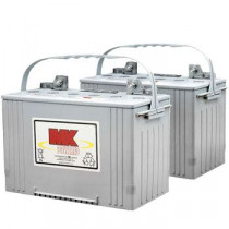 12V 88 AH Sealed Gel (Pair) Batteries