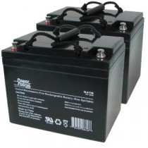 12V 34 AH Sealed Lead Acid (Pair)