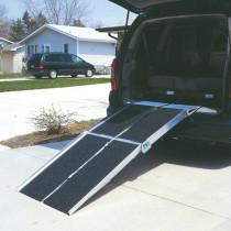 Multifold Reach Ramp on SUV