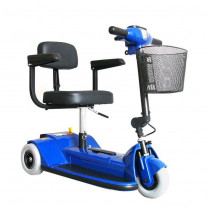 Zip'r 3-Wheel Mobility Scooter for Sale Blue