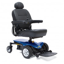 Jazzy Elite ES Power Wheelchair for Sale Blue