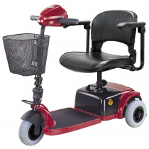 Red CTM HS 125 Mobility Scooter for Sale