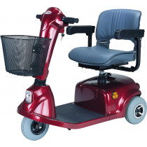 Red CTM HS-320 Mobility Scooter for Sale