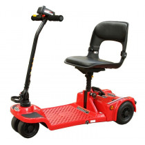 Shoprider Echo 4-Wheel Folding Mobility Scooter in Red for Sale