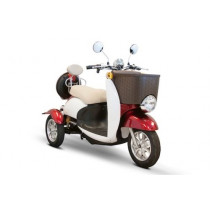 EW-11 Sport 3-Wheel Mobility Scooter Red & White
