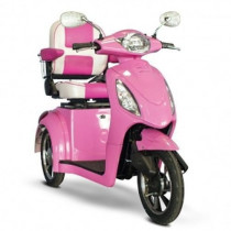 EW-80 Pretty in Pink Mobility Scooter Front View