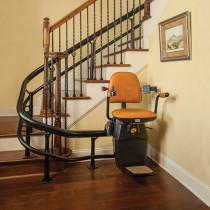 Harmar Handicap Spiral Staircase Lift
