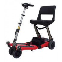 Luggie Standard Red 4-Wheel Mobility Scooter for Sale