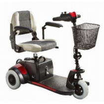 Merits Health S539 Mini-Coupe 3-Wheel Mobility Scooter