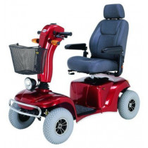 Merits Health S341 Pioneer 10 DLX Bariatric 4-Wheel Mobility