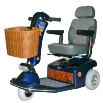 Sunrunner 3-Wheel Mobility Scooter in Blue for Sale