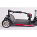 Buzzaround XL 4-Wheel Mobility Scooter Foldable Tiller