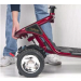 LiteRider 3-wheel Mobility Scooter Removable Back Piece