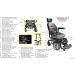 Trident Power Wheelchair Parts