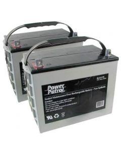 12 V 75 AH Sealed Lead Acid (Pair)