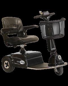 black RD scooter by amigo