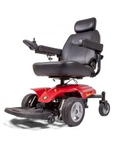 side angle golden technologies alante sport electric wheel chair