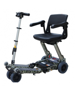 Luggie Elite Camouflage Special Edition 4-Wheel Mobility Scooter for Sale