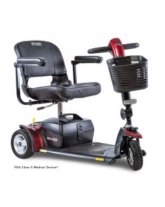 gogo sport scooter by pride mobility in red