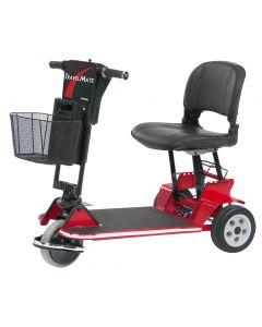 Amigo folding mobility scooter red