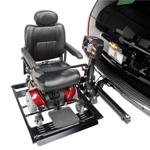 Power Wheelchair Hitch Lifts
