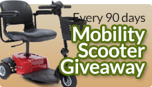 Mobility Scooters Giveaway