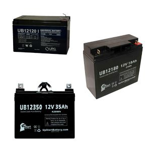SLA replacement batteries for mobility scooters and power wheelchairs